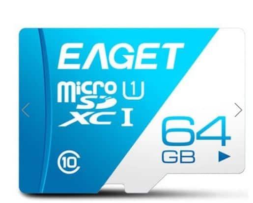 EAGET T1 64GB Speicherkarte Class10 UHS-1 für 6,45 Euro inkl. Versand bei Dresslily!