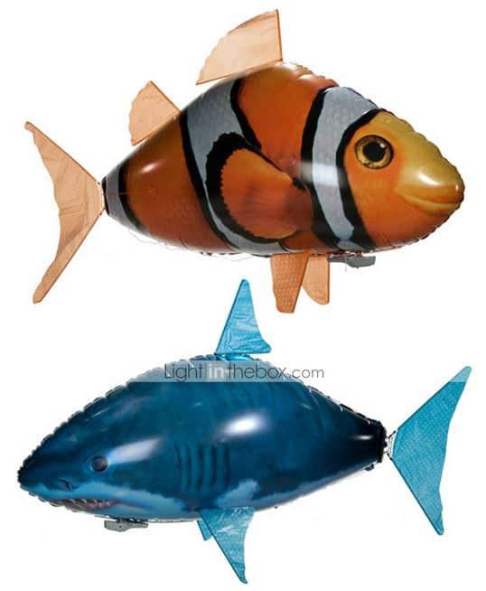 Ferngesteuerter Hai (Air Swimmer) für nur 10,12 Euro inkl. Versandkosten!