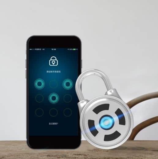 Endet bald! Bluetooth-Vorhängeschloss (indoor) mit App-Steuerung für nur 9,09 Euro inkl. Lieferung!