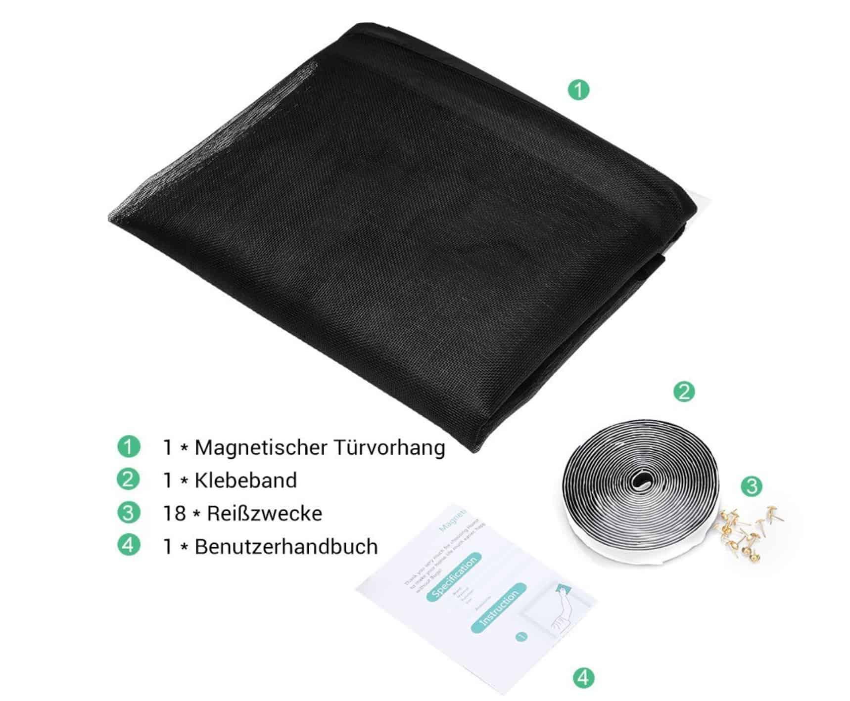 magnet fliegengitter f r t ren in verschieden gr en ab 8 99 euro. Black Bedroom Furniture Sets. Home Design Ideas