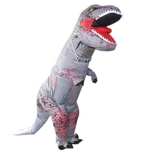 Selbstaufblasendes Dino-Kostüm für nur 29,98 Euro inkl. Versandkosten bei Tomtop!