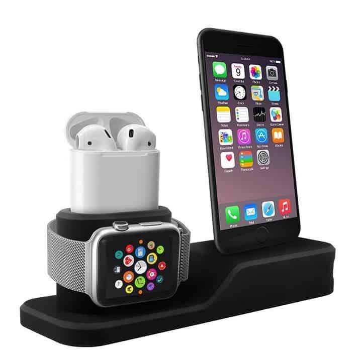 Gocomma 3 in 1 Ladedock für Iphone, Airpods und Apple Watch!