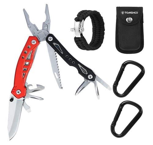 TOMSHOO Multitool Survival Kit für nur 14,39 Euro inkl. Prime-Versand