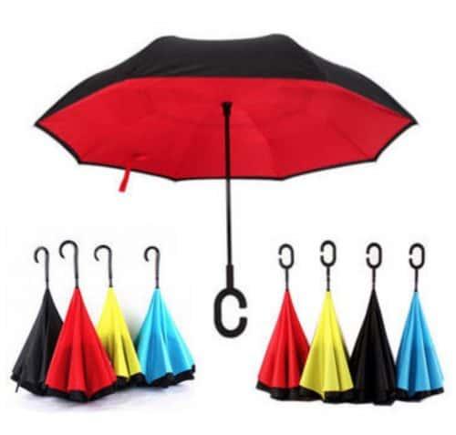 """Umgekehrter """"Upside Down"""" Regenschirm für nur 11,58 Euro inkl. Versand!"""