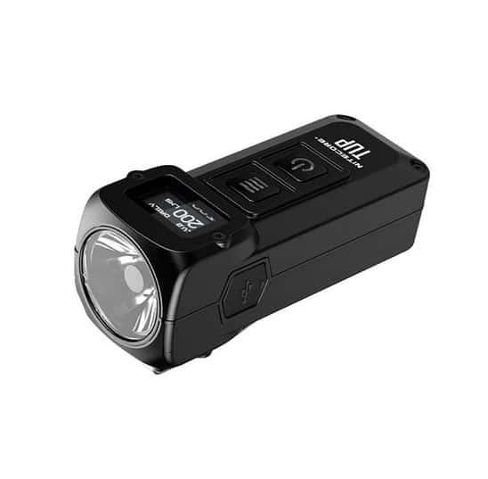 NITECORE TUP mit 1000 Lumen aus XP-L HD V6 LED, eingebautem Li-Ion-Akku und mit OLED Display für nur 36,52 Euro