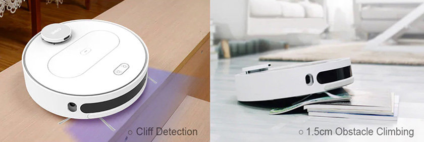 360 S6 Klippen Sensor und Hindernisüberbrückung