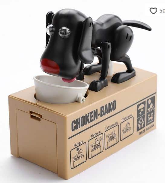 Bestpreis! Hund als günstige und lustige Spardose aus China! Mit Gutschein für nur 4,58 Euro inkl. Lieferung!