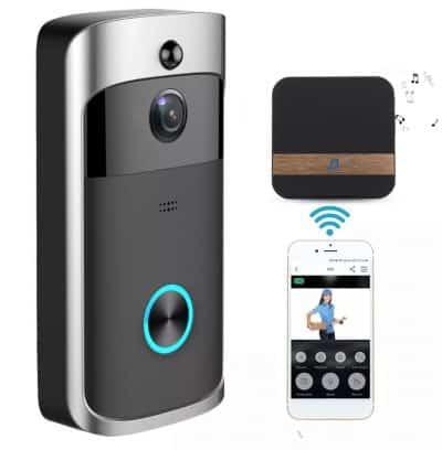 Türklingel mit Gong, HD-Kamera und App-Steuerung für 27,04 Euro inkl. Versand