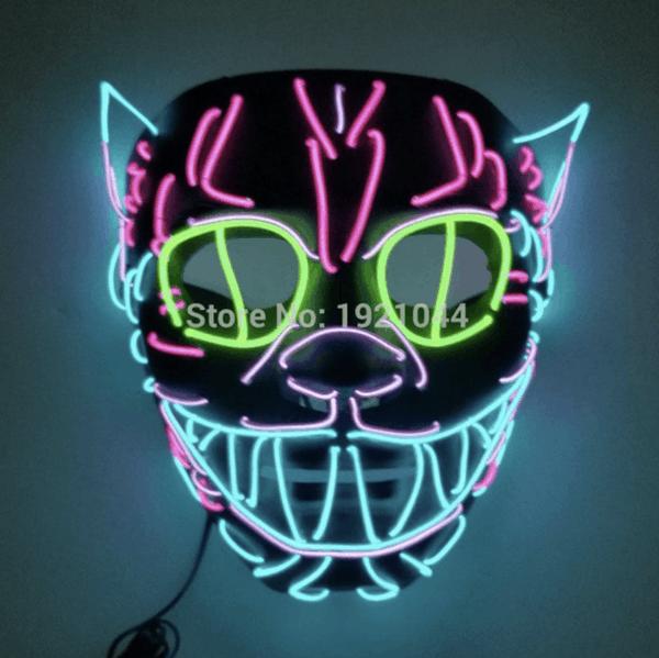 Jetzt bestellen! Halloween LED Masken ab 5,72 Euro
