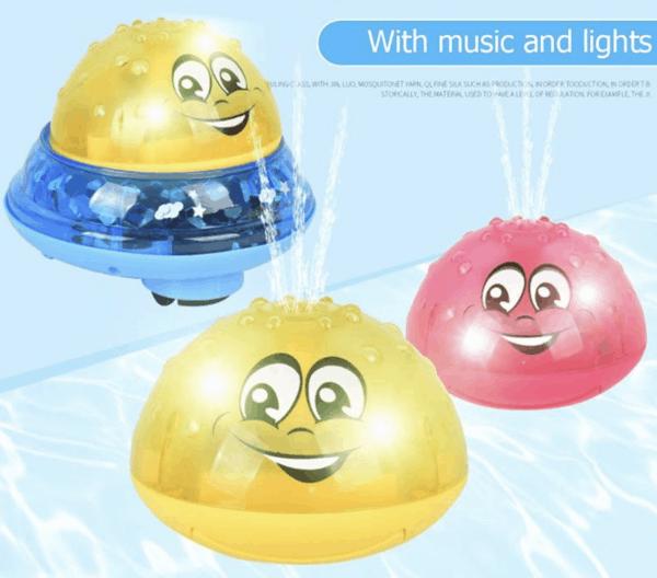 Blinkende Sprinkler LED UFO-Bälle zu Wasser und an Land