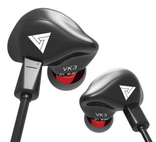 QKZ VK3 Wired In-ears mit 3.5mm Klinkenstecker nur 4,25 Euro bei Geekbuying
