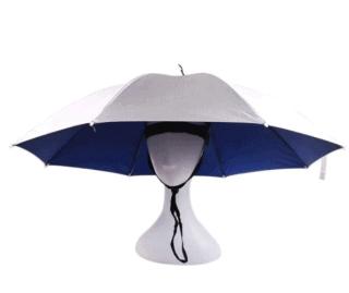 Perfektes Festival Gadget: Der Regenschirm-Hut für nur 4,14 Euro inkl. Versand