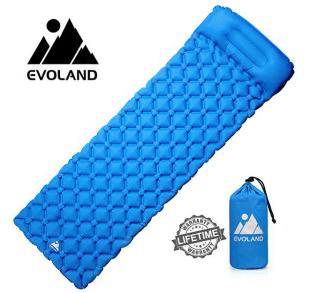 Camping Gadget: Ultraleichte, aufblasbare Evoland Camping Isomatte für 19,99 Euro bei Amazon