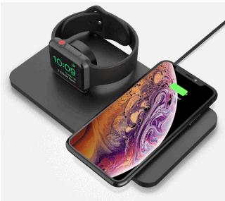 Seneo 2-in-1 Qi Ladestation für Smartphones und Apple Watch für 20,99 Euro bei Amazon