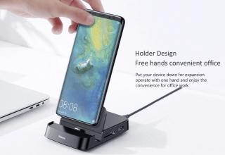 Baseus 7-in-1 Smartphone Dockingstation mit Kartenleser und USB-Hub