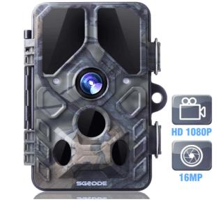 Pricedrop: SGODDE Wildkamera mit Infrarot-Nachtsicht für 49,44 Euro