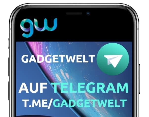 🤑 Ab sofort alle Gadgetwelt Beiträge auch per Telegram Channel