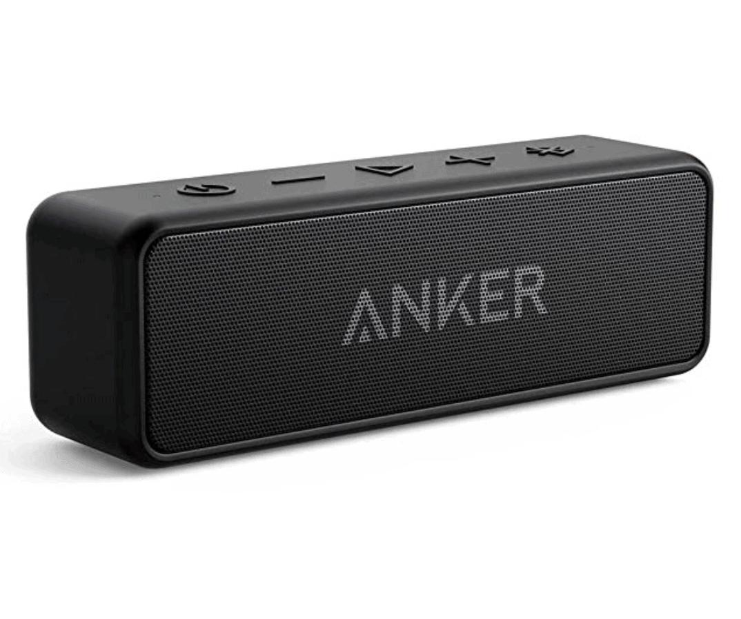 Anker SoundCore 2 Bluetooth Lautsprecher in schwarz für 29,99 Euro