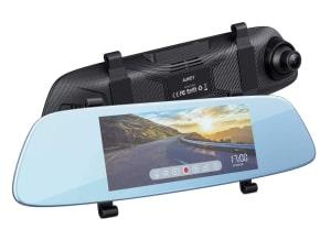 AUKEY DRA2 Spiegel Dashcam mit 6.8 Zoll LCD-Touchscreen für 55,99 Euro