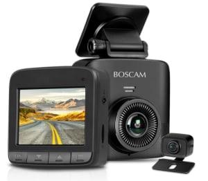 BOSCAM S1 1520P Dashcam mit Rückkamera für nur 59,99 Euro bei Amazon