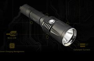 On The Road X3 LED Taschenlampe mit 1197 Lumen