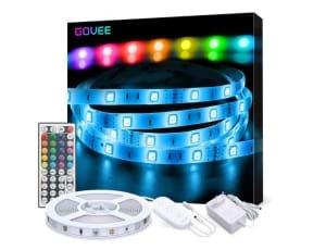 Govee 5m RGB LED_Strip mit Netzteil, Controller und Fernbedienung für 11,99 Euro bei Amazon