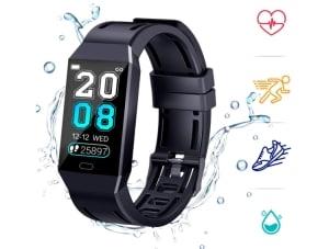 Coulax Fitnesstracker mit Herzfrequenzmessung für nur 16,- Euro bei Amazon