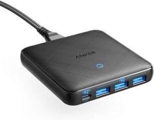 Anker PowerPort Atom III Slim USB-C Ladegerät mit bis zu 65W Gesamtleistung und 4-Ports nur 35,99 Euro bei Amazon