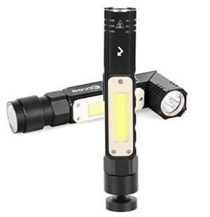 Eecoo LED Taschenlampe mit 800 Lumen und 1500 mAh Akku für 9,99 Euro statt 15,99 Euro