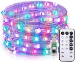 TaoTronics TT-SL214 10m RGB LED-Leuchtdraht für 6,50 Euro bei Amazon