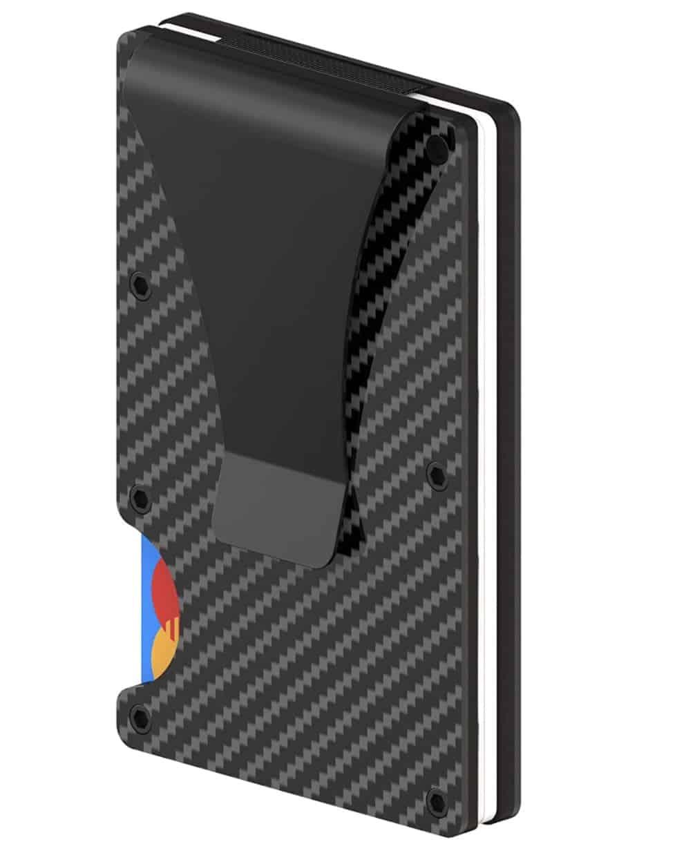 Carbon Kreditkartenetui mit NFC & RFID Schutz für nur 7,99 Euro