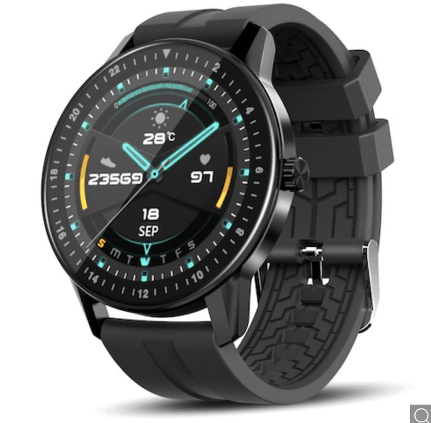Kospet MAGIC 2 Smartwatch, Display 360 x 360px, wasserfest IP67, 2 Armbänder für 23,35 Euro