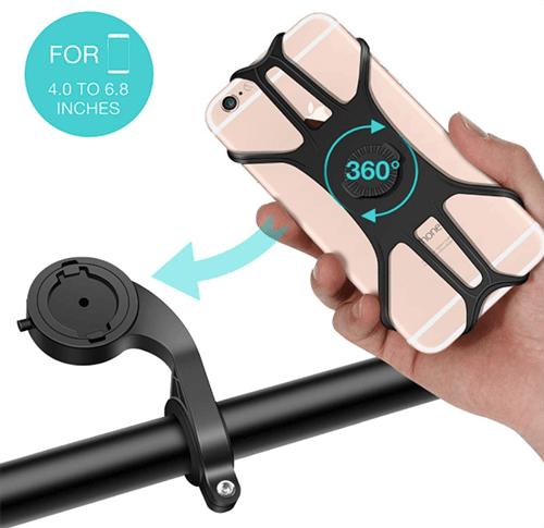 SAWAKE  Smartphone Halterung für Fahrrad oder Motorrad nur 6,28 Euro bei Amazon