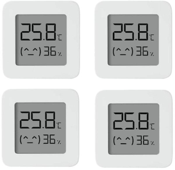 4 Stück Xiaomi Mijia Bluetooth Thermometer 2 für 11,99 Euro inkl. Versand