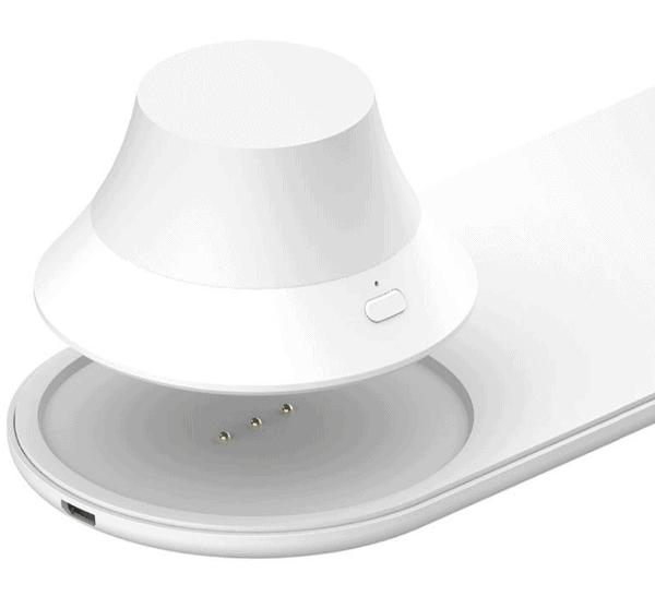 Yeelight 7.5W / 10W Wireless Charger Ladestation mit abnehmbarem Nachtlicht nur 17,45 Euro inkl. Versand
