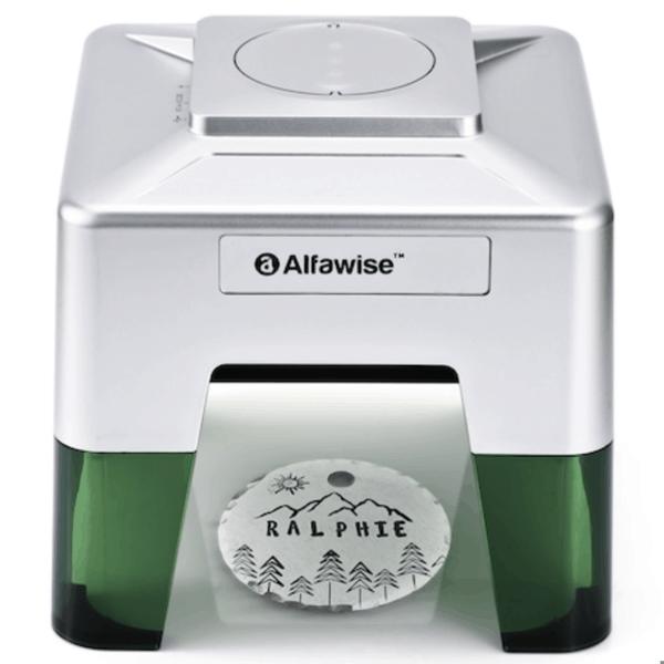 Alfawise C50 Lasergraviermaschine mit App Steuerung 98 x 88 mm nur 114,25 Euro