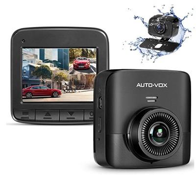 AUTO-VOX FHD Dual Dashcam (2,4″ LCD Bildschirm, Bewegungserkennnung) für nur 52,19 Euro inkl. Versand