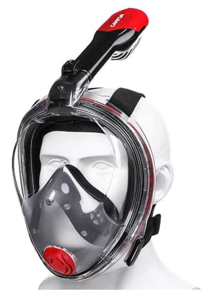CAMTOA Vollgesichts-Tauchmaske für nur 14,40 Euro