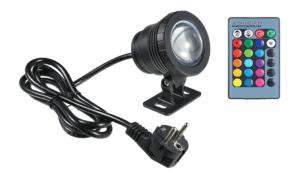 Vislone 10W RGB LED Unterwasserlampe für nur 10,99 Euro inkl. Versand