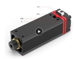 Für mutige Bastler: 7000mw Laser Modul für nur 52,99 Euro aus der EU