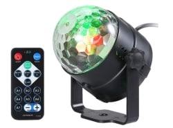 VISLONE 3W RGB LED-Partylicht für 5,99 Euro