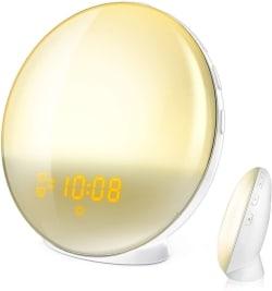 HoMii Lichtwecker mit 7 Farben und Alexa + Google Home Support für 15,99 Euro