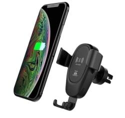 Walmeck D12 Kfz-Handyhalter mit Wireless Charger für 5,32 Euro