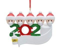 HUBA Weihnachtsdekorationen im 2020 Corona Design für 4,99 Euro