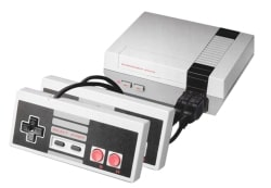 Mini-Retro-Spielekonsole im NES-Style mit 620 Classic-Games und 2 Controllern für 15,99 Euro