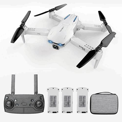 GoolRC S162 Mini RC Drohne mit 4K Kamera und 3 Akkus für nur 104,99 Euro