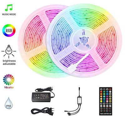 HoMii RGB LED Streifen (10m, Sync mit Musik, IP65, 300 LED) für nur 14,49 Euro inkl. Versand