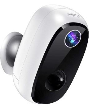 MECO ELEVERDE Outdoor WLAN Überwachungskamera mit Akku und Speicherkartenslot für 53,99 Euro statt 89,99 Euro