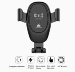 Ajcoflt D12 KFZ-Smartphone Halter mit Qi-Charger nur 4,99 Euro