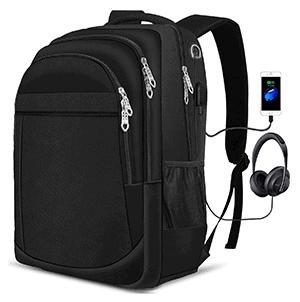 PUREBOX Laptop Rucksack mit USB-Anschluss für nur 11,14 Euro